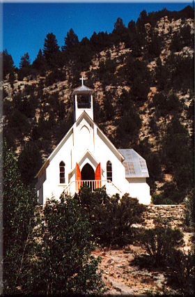 Our Lady of Tears, Church in Silver City, Idaho