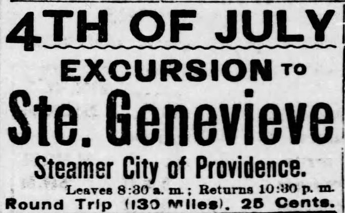 St. Louis Post-Dispatch of St. Louis, Missouri, on July 2, 1899.