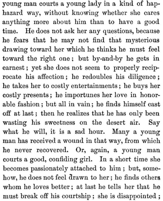 Kristin Holt | A Proper Victorian Courtship; The Marriage Guide for Young Men, part 10