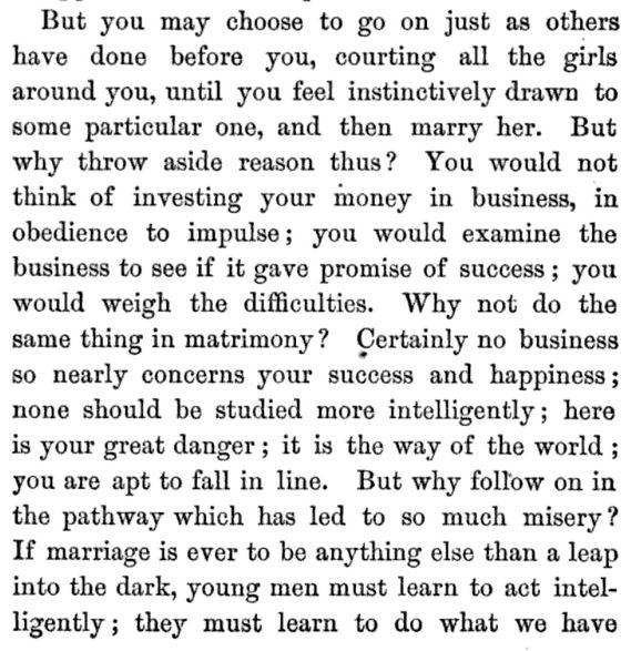 Kristin Holt | A Proper Victorian Courtship; The Marriage Guide for Young Men, part 13