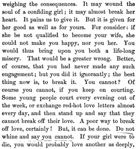 Kristin Holt | A Proper Victorian Courtship; The Marriage Guide for Young Men, part 20