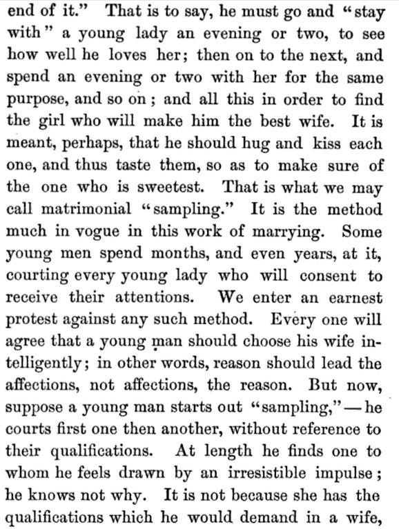 Kristin Holt | A Proper Victorian Courtship; The Marriage Guide for Young Men, part 4
