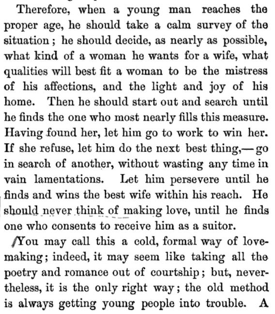 Kristin Holt | A Proper Victorian Courtship; The Marriage Guide for Young Men, part 9