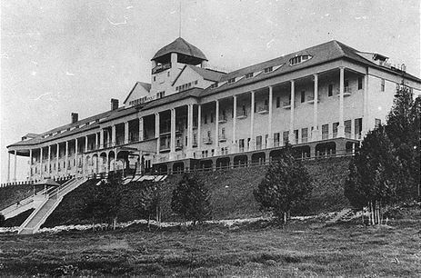Grand Hotel, Mackinac Island, Michigan, 1890. Image: courtesy of Grand Hotel.