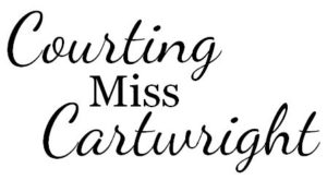 Title Layout. Courting Miss Cartwright