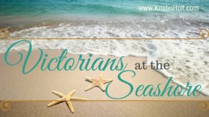 Kristin Holt | Victorians at the Seashore. Related to Lady Victorian's Secret.
