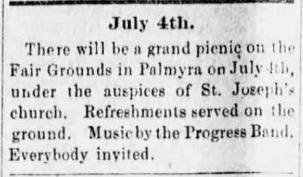 Marion County Herald of Palmyra, Missouri on June 13, 1895,