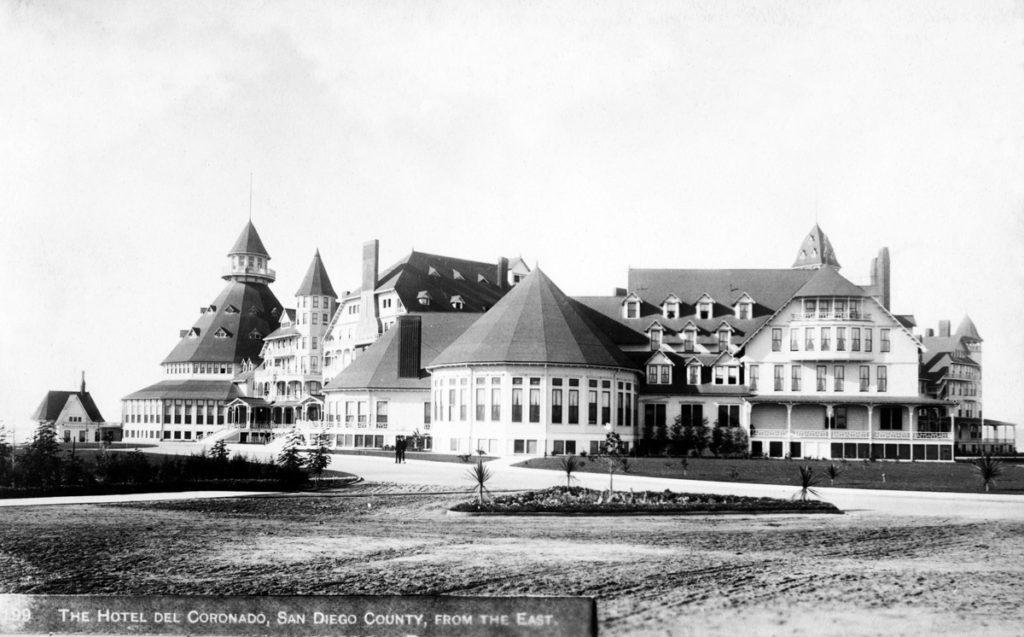 Historic Hotel Del Coronado. Image, courtesy of Hotel Del Coronado