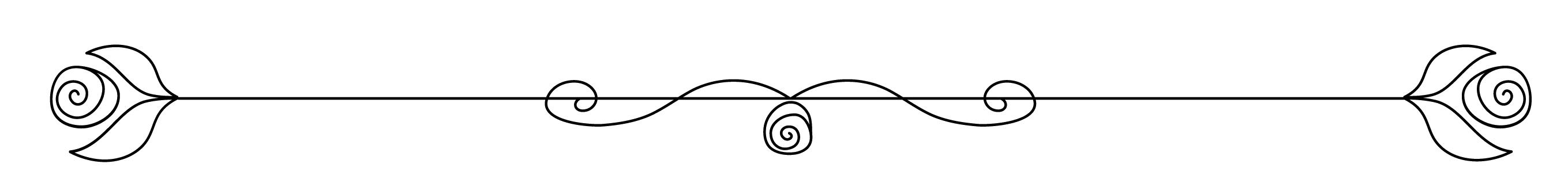 rose line art