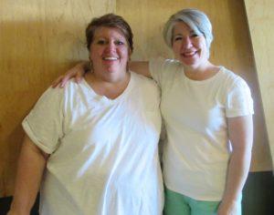 Bella Bowen (left) and Kristin Holt (right)