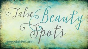 False Beauty Spots by USA Today Bestselling Author Kristin Holt.