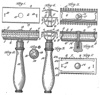Gilette Safety Razor.US_Patent_775134