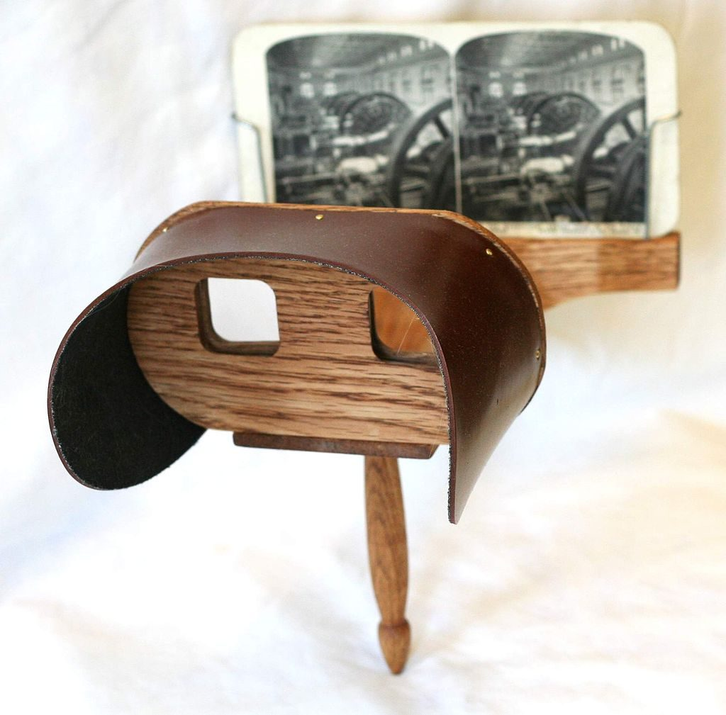 Holmes_stereoscope. Public Domain