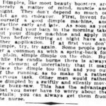 Look to your dimples. part 2. The Houston Post of Houston, Texas on October 29, 1910