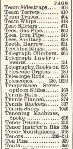 NO Telephones in 1902 book no 111