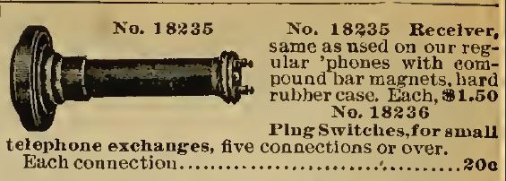 Receiver 1898 Sears
