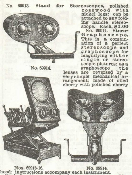 Stereoscopes Part 3. Sears 1897