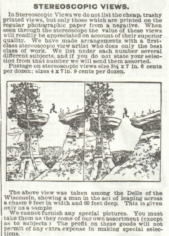 Stereoscopes Part 5. Sears 1897