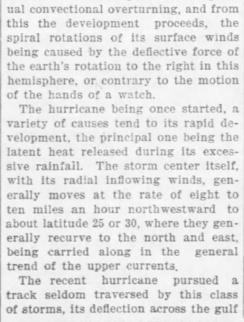 Cause of Hurricanes 2. The Weekly Star and Kansan of Independence, Kansas, on September 21, 1900