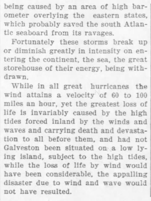 Cause of Hurricanes 3. The Weekly Star and Kansan of Independence, Kansas, on September 21, 1900