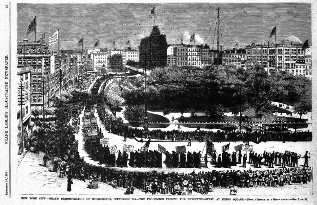 A history of labor unions the organizations of laborers with a common agenda