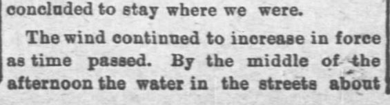 Galveston Storm Part 8. Salina Daily Republican-Journal of Salina, Kansas, September 18, 1900