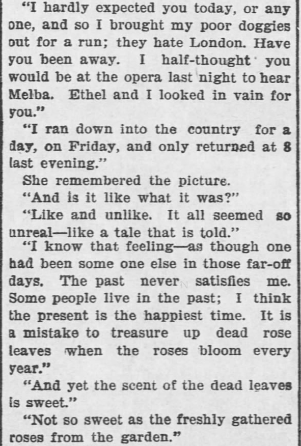 Like a Tale Told, Part 10, published in The Hays Free Press of Hays, Kansas on July 20, 1901.