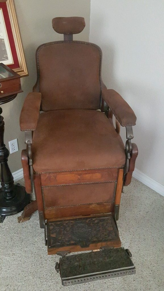 Vintage 1880's Koken barber chair . for sale on ebay