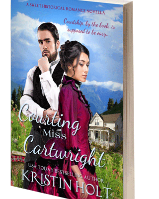 Courting Miss Cartwright, Autographed Paperback