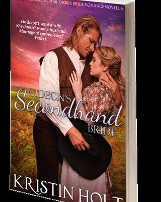 Gideon's Secondhand Bride, Autographed Paperback