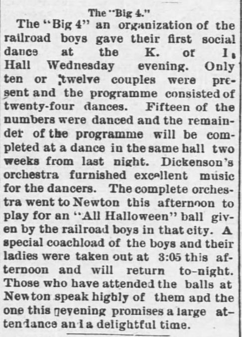 The Emporia Weekly of Emporia, Kansas, on November 7, 1889.