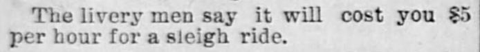 Salt Lake Herald of Salt Lake City, Utah on February 3, 1891.
