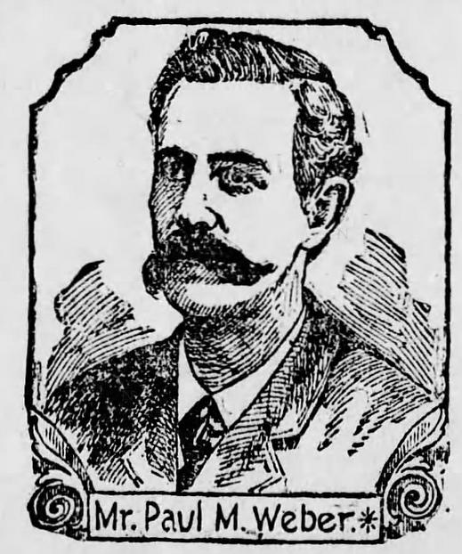 Kristin Holt   Victorian Era Men's Hairstyles. Engraving of Mr Paul M. Weber published in The Scranton Republican of Scranton, Pennsylvania. November 9, 1894.