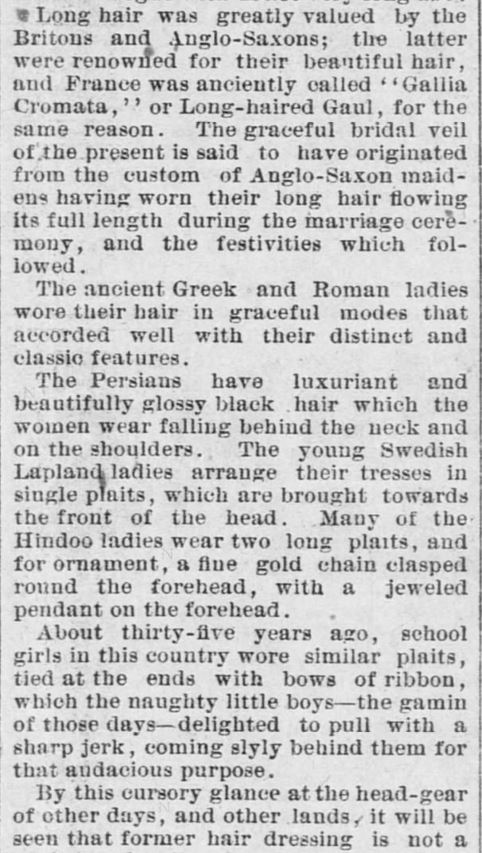 Forth Worth Daily Gazette of Fort Worth, Texas on February 24, 1889. Part 3.