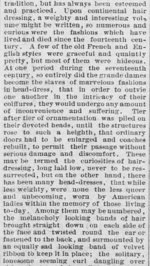 Forth Worth Daily Gazette of Fort Worth, Texas on February 24, 1889. Part 4.