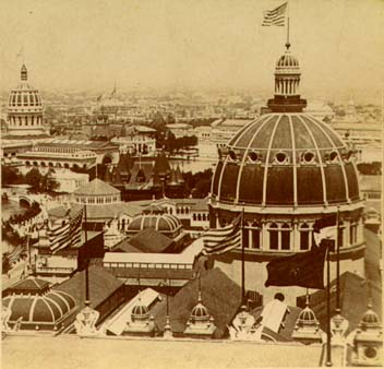 "World Columbian Exhibition ""White City"", 1893. [Image: Public Domain, via Wikipedia]"