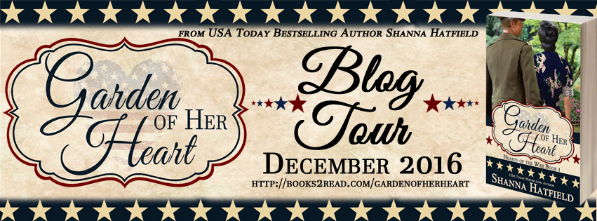 Blog Tour: Garden of Her Heart by Shanna Hatfield