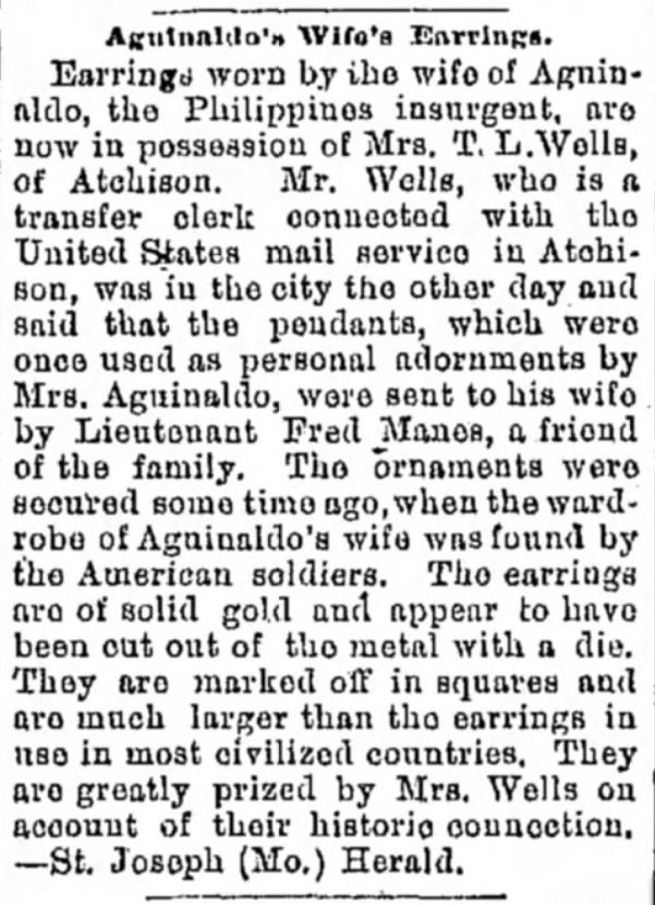 The Record Argus of Greenville, Pennsylvania on February 22, 1899.