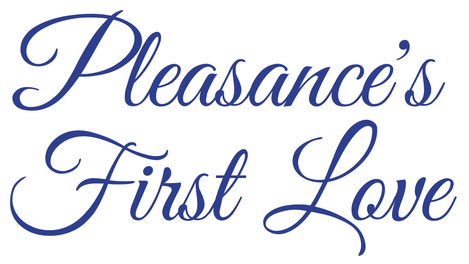 Title Badge Image: Pleasance's First Love by USA Today Bestselling Author Kristin Holt