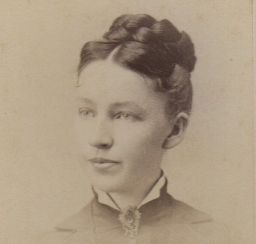 Pretty young woman, photographed in Westboro, Massachusetts. Image: for sale on ebay.
