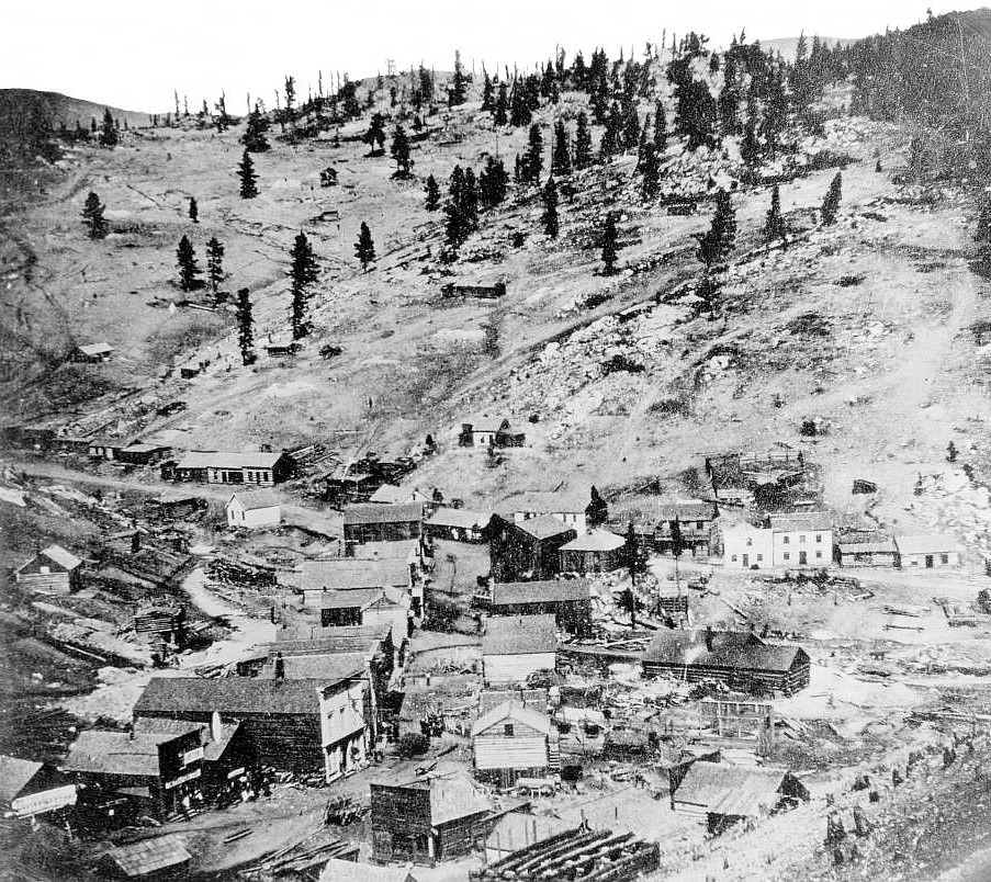 Central City, Colorado. 1872. Image: Public Domain, courtesy of Wikipedia.