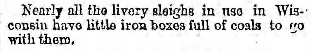 The Brooklyn Daily Eagle of Brooklyn, New York on January 26, 1870,