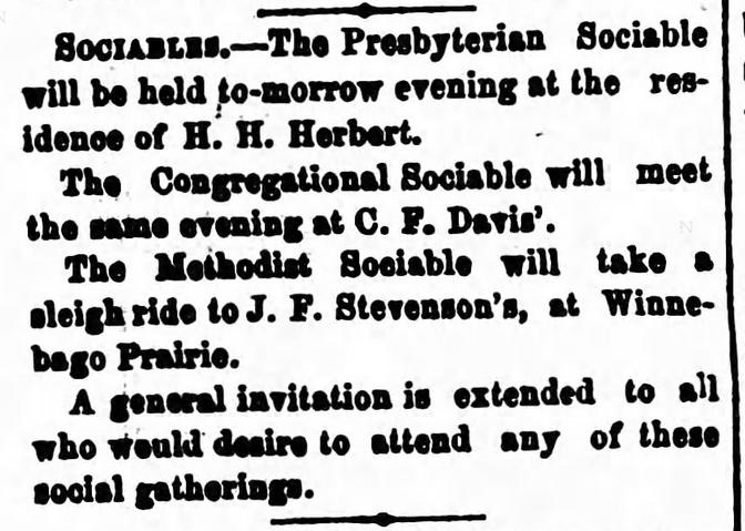 St. Cloud Journal of St. Cloud, Minnesota on January 13, 1870.