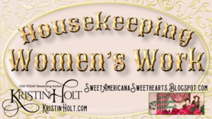 Kristin Holt | Housekeeping: Women's Work. Related to Victorian America: Women Responsible for Domestic Happiness (1860).