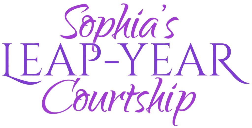 Title Badge Image: Sophia's Leap-Year Courtship by USA Today Bestselling Author Kristin Holt
