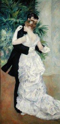 Kristin Holt | Victorian Dancing Etiquette. Image: Victorian couple dancing. Image: Pinterest.