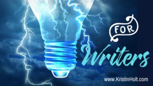 """For Writers"" by Author Kristin Holt. A page filled with resources, helpful training sources, and more."