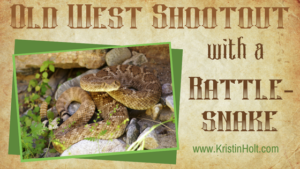Kristin Holt | Old West Shootout with a Rattlesnake