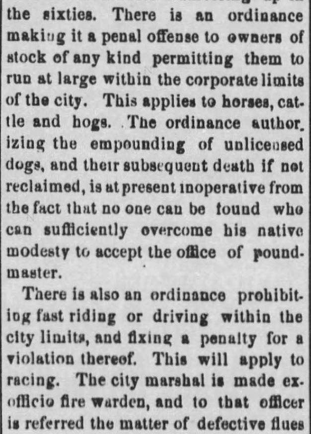 "Kristin Holt | ""Nineteenth Century Problems"". The Black Hills Daily Times of Deadwood, South Dakota, May 22, 1884. Part 3."