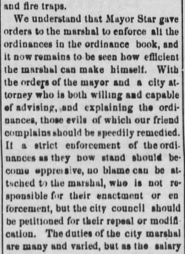 "Kristin Holt | ""Nineteenth Century Problems"". The Black Hills Daily Times of Deadwood, South Dakota, May 22, 1884. Part 4."